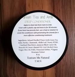 Green Tea and Amla Deep Conditioner