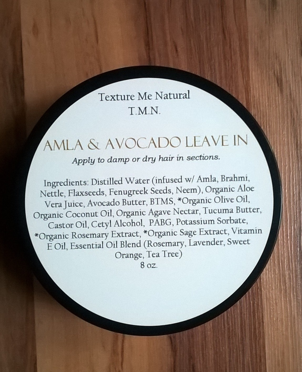 AMLA & AVOCADO LEAVE IN