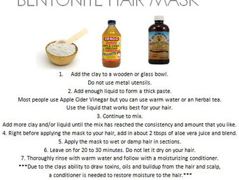 BENTONITE HAIR MASK