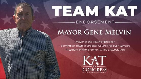 Mayor Gene Melvin