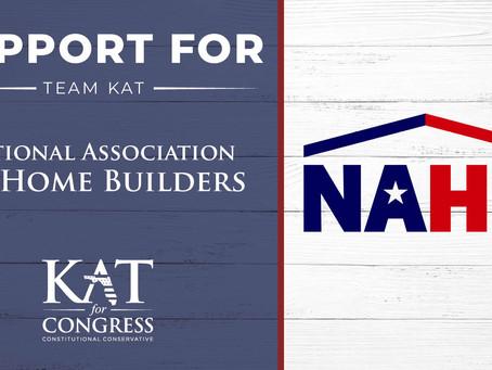 National Association of Home Builders Endorses Kat Cammack for Congress
