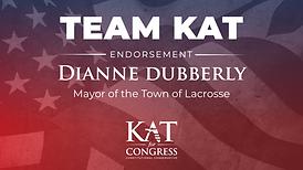 Mayor of Lacrosse, Dianne Dubberly