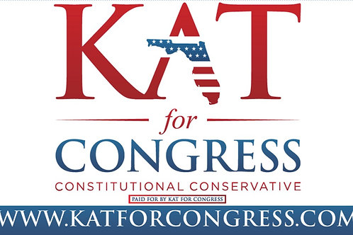Kat for Congress Flag