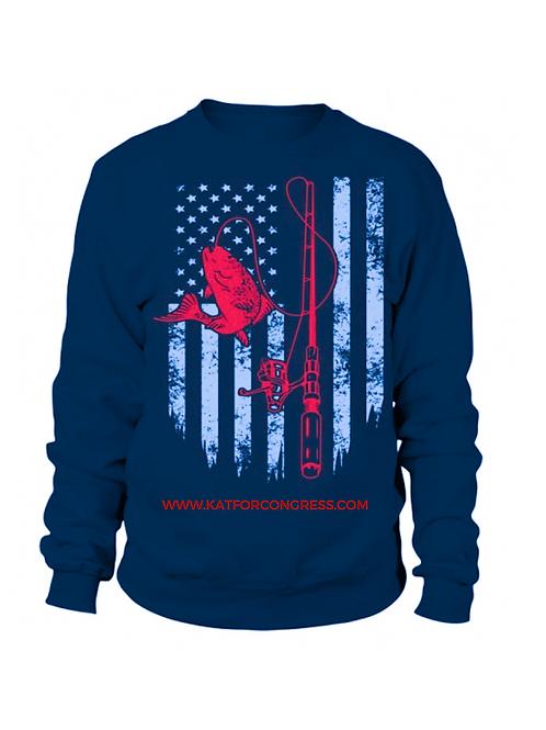 Kat for Congress Fishing Shirts