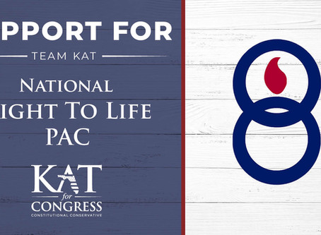 Kat Cammack's statement on endorsement from the National Right to Life PAC