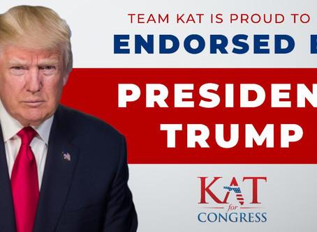 RELEASE: President Donald J. Trump EndorsesKat Cammack
