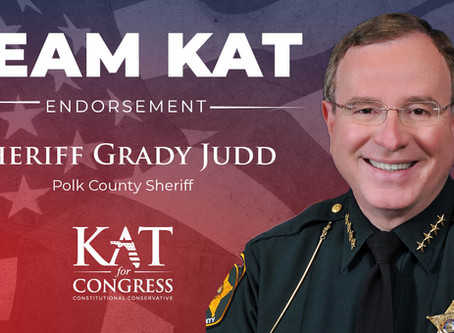 Sheriff Grady Judd Endorses Kat Cammack for Congress