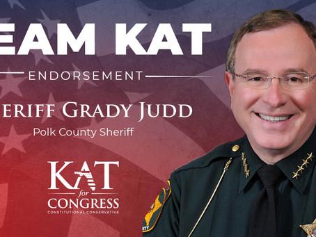 Sheriff Grady Judd Endorses Kat Cammack for Congress