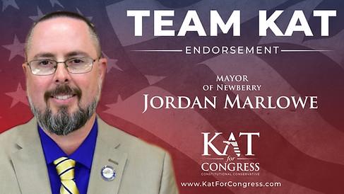 Mayor Jordan Marlow