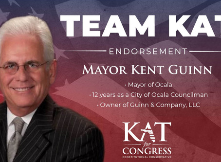 Kat Cammack Endorsed by Mayor Kent Guinn