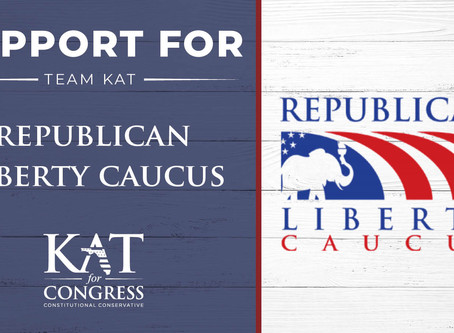 The Republican Liberty Caucus throws its support behind Kat Cammack for Congress in FL-03