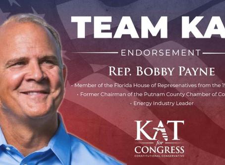 Representative Bobby Payne Endorses Kat Cammack
