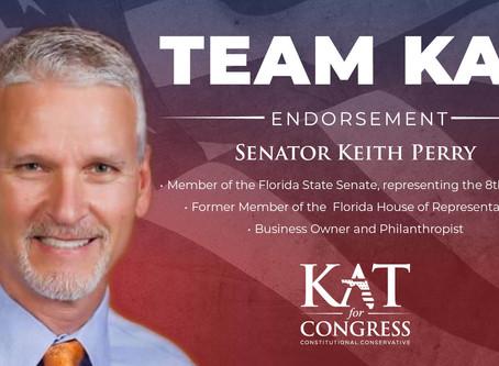 Senator Keith Perry Endorses Kat Cammack