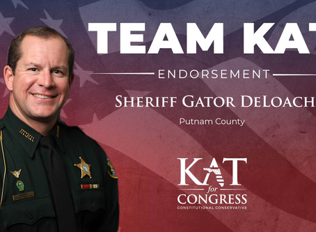 Sheriff Gator DeLoach Endorses Kat Cammack for Congress