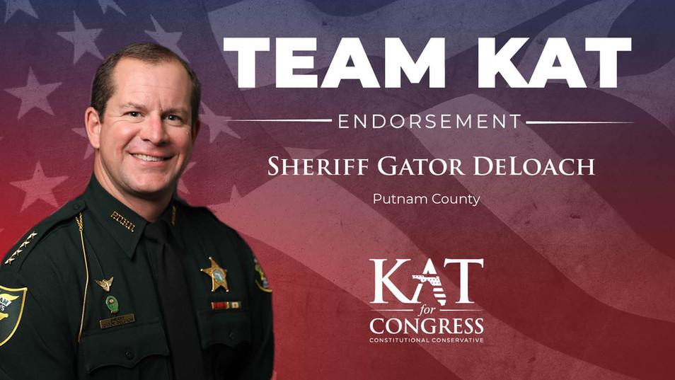 Sheriff Gator DeLoach
