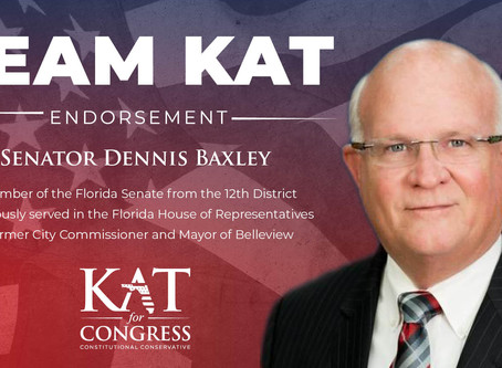 Senator Dennis Baxley Endorses Kat Cammack