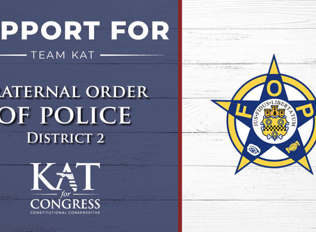 Fraternal Order of Police Endorses Kat Cammack for Congress