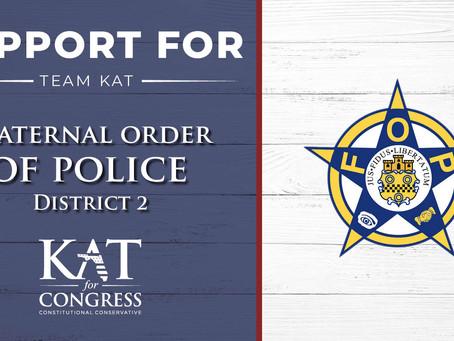 Fraternal Order of Police Endorses Kat Cammack for Congress