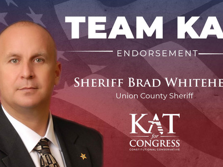 Kat Cammack Endorsed by Sheriff Brad Whitehead