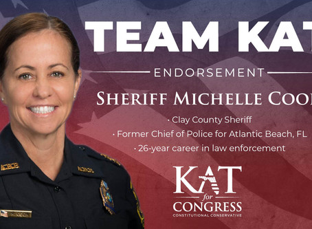 Kat Cammack Endorsed by Sheriff Michelle Cook