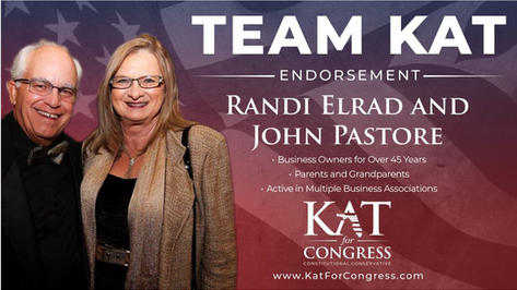 Randi Elrad and John Pastore