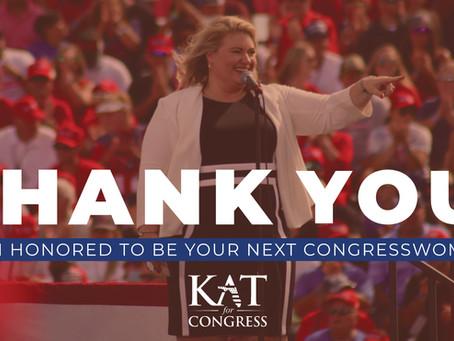 Kat Cammack Wins Race for Florida's Third Congressional District