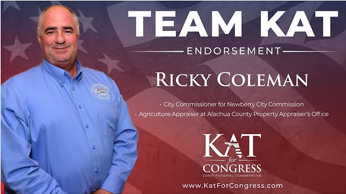 Commissioner Ricky Coleman