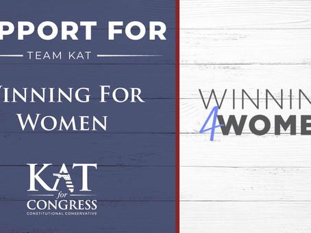 ICYMI: Kat Cammack receives endorsement from Winning For Women