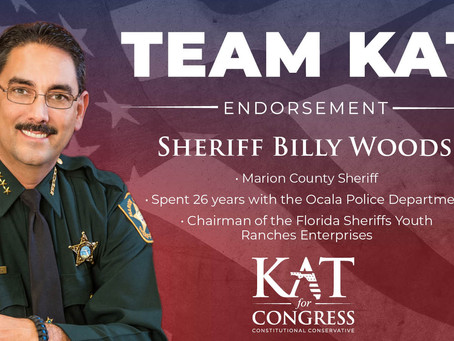 Kat Cammack Endorsed by Sheriff Billy Woods