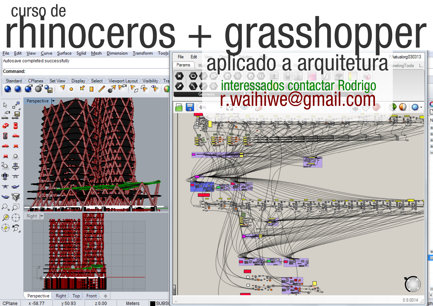 grasshopper rhinoceros parametric