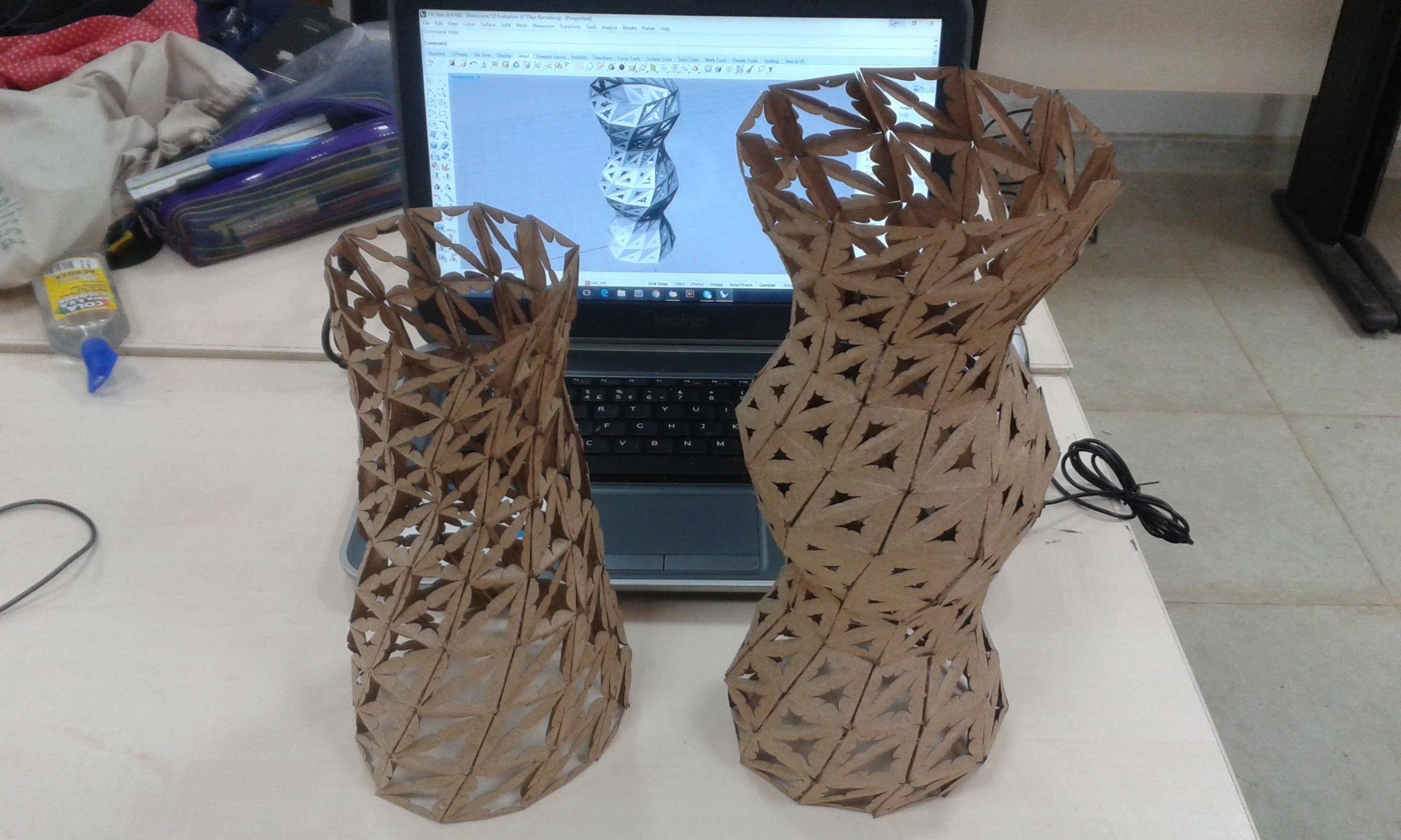 Fabricação digital Grasshopper