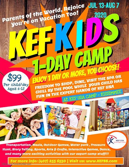 2020B of Kids Summer Camp Flyer Template