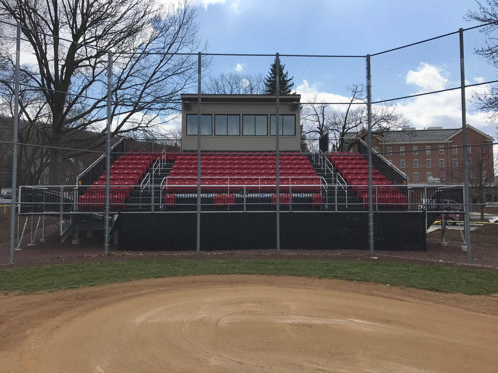 Albright College Baseball Bleachers
