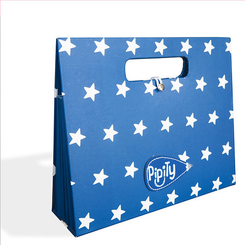 Pipity Portfolio - Blue