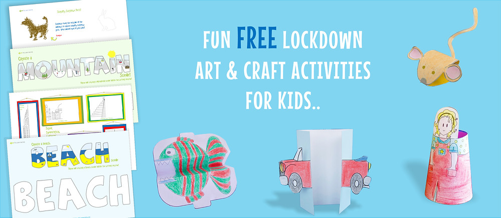 LOCKDOWN ACTIVITIES FOR KIDS