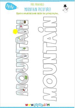 Free Printable - Mountain.png