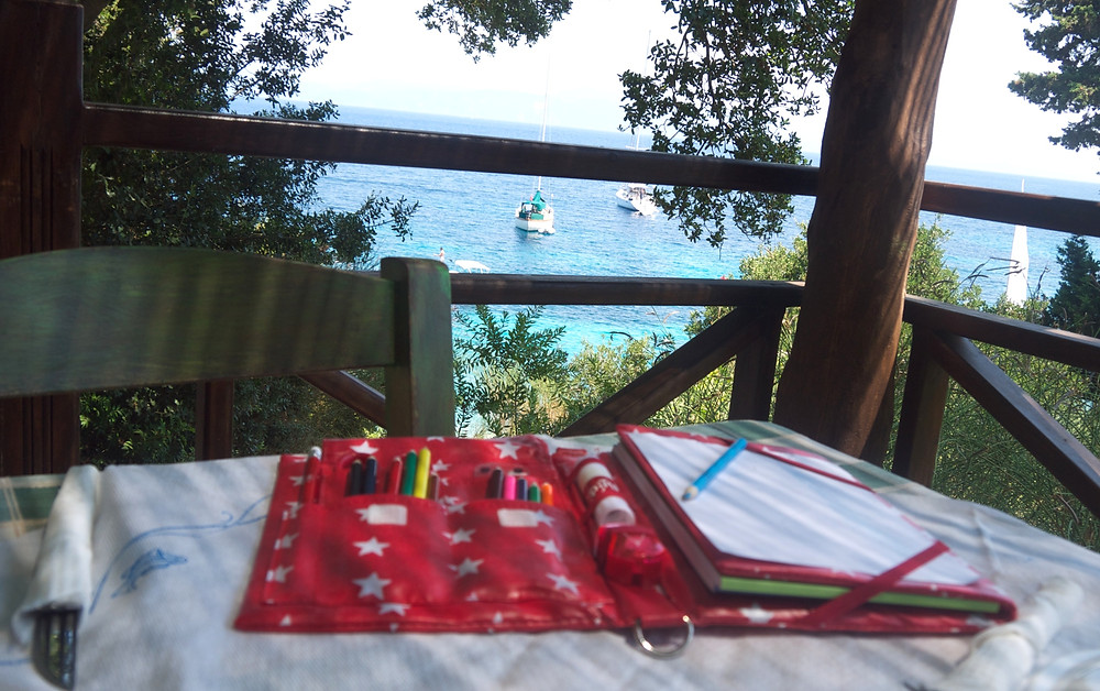 Pipity Travel Activities for kids in Paxos Greece