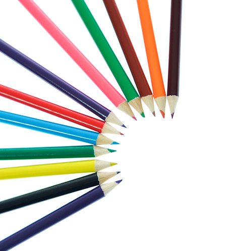 Set of 12 Colouring Pencils