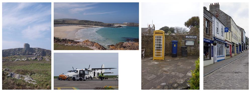 Beaches and Landmarks on Alderney