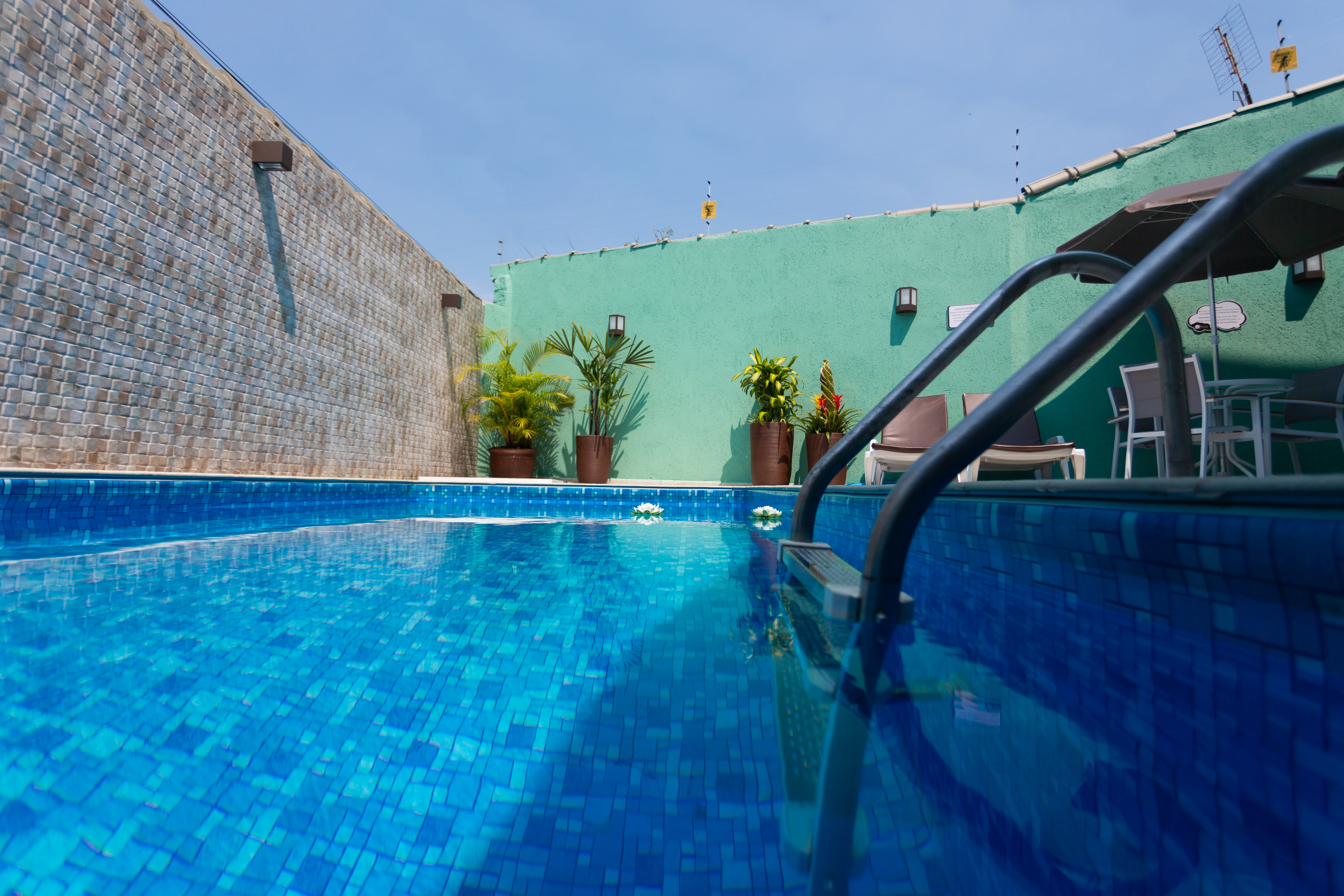 Nossa linda piscina!