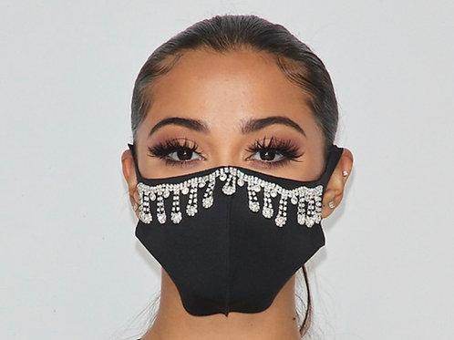 Glamorous Flower Face Mask