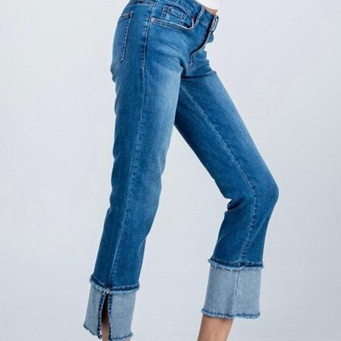 Mid Rise Straight Leg