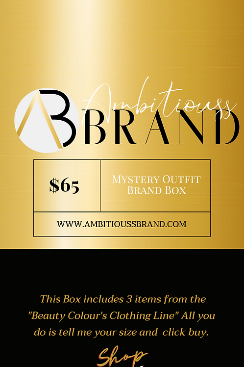 Mystery Outfit Brand Box
