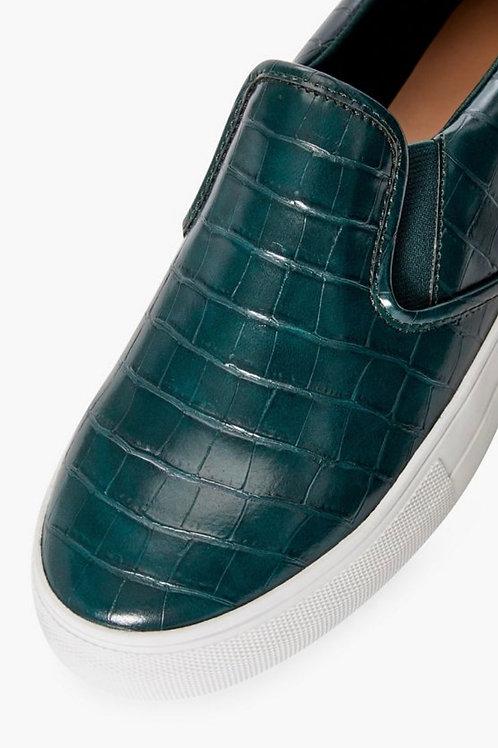 Eloise Contrast Slip-on Sneaker