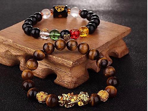 Unisex Good luck & Wealth Beaded Bracelet