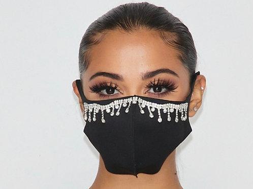 Glamorous Tear Drop Mask