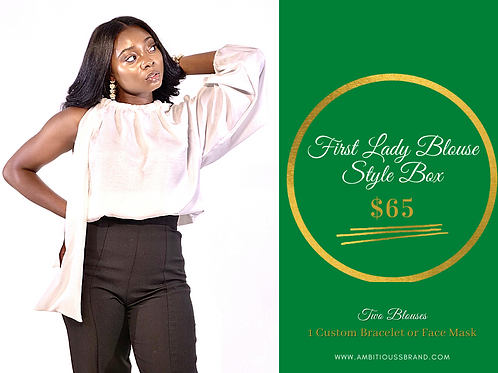 First Lady Blouse Style Box