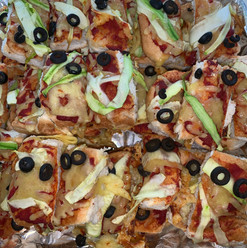 Scary Pizza Monsters