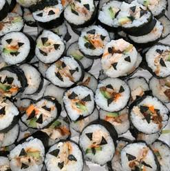 Pumpkin sushi