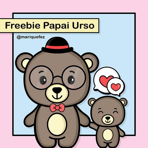 Freebie - Papai Urso